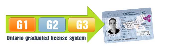 g2 drivers license demerit points